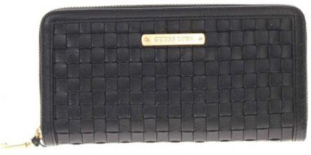 Guess portfel damski czarny