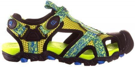 ALPINE PRO chlapecké sandály Barbielo žlutá 31
