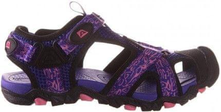 ALPINE PRO dívčí sandály Barbielo fialová 35