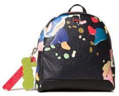 Desigual dámský černý batoh Back Arty Cooper Veice Mini