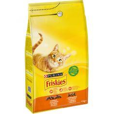 Friskies Cat Baromfi 4 kg