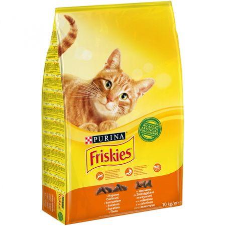 Friskies Cat Csirke és Zöldség 10 kg