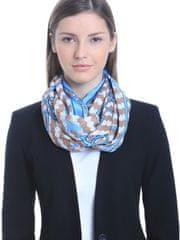 Alber Zoran dámský modrý šátek Acotango