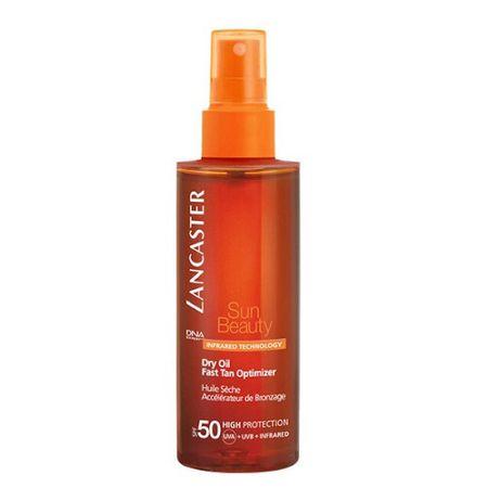 Lancaster Suchý olej na opalování SPF 50 Sun Beauty (Dry Oil Fast Tan Optimizer) 150 ml