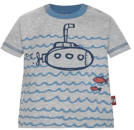 2be3 chlapčenské tričko Beach 62 sivá