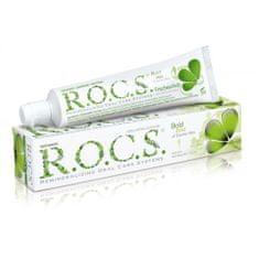 R.O.C.S. zobna pasta Double Mint za odrasle (varna za otroke od 4. leta)