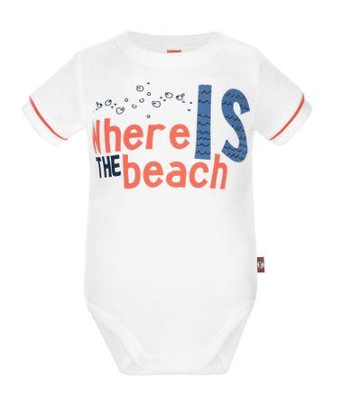 2be3 Beach fiú kombidressz 62 fehér