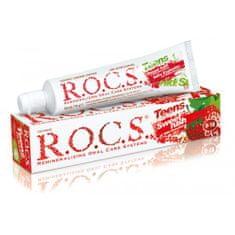 R.O.C.S. Teens Wild Strawberry zobna pasta