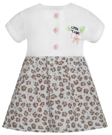 2be3 lány ruha Panther 68 fehér