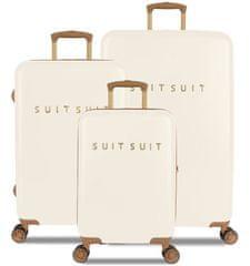 SuitSuit TR-7104/3 komplet potovalnih kovčkov - Fab Seventies Antique White