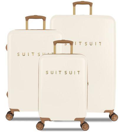 SuitSuit TR-7104/3 komplet putnih kovčega - Fab Seventies Antique White