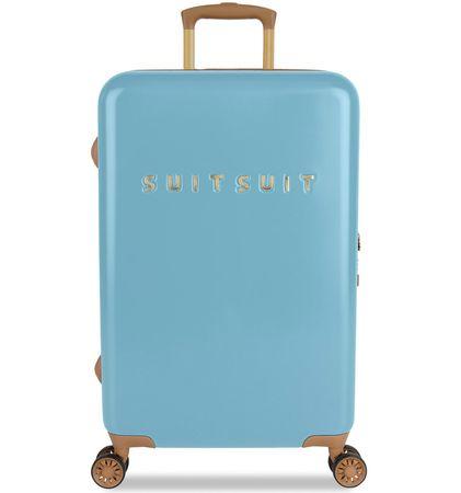 SuitSuit Walizka podróżna TR-7105/3-M - Fab Seventies Reef Water Blue