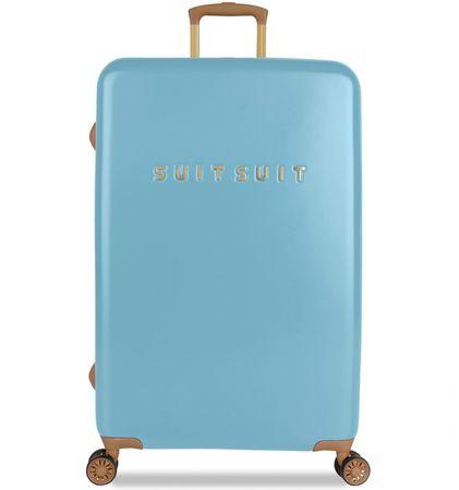 SuitSuit Utazó bőrönd TR-7105/3-L - Fab Seventies Reef Water Blue