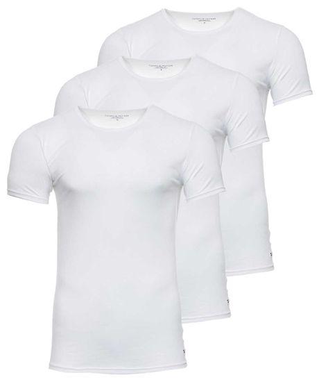 Tommy Hilfiger trojité balenie pánskych tričiek XXL biela