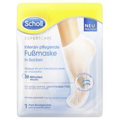 Scholl maska za stopala s makadamovim uljem PediMask Expert Care, 1 par