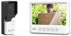Evolveo DoorPhone IK06, set video dveřního telefonu s pamětí a barevným displejem (DPIK06-W)