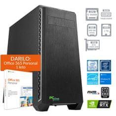 PCplus Gamer namizni računalnik (138768) + DARILO: 1 leto Office 365 Personal