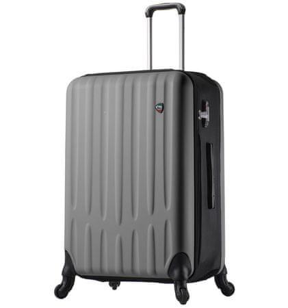 Mia Toro walizka podróżna M1301/3-L - srebrna