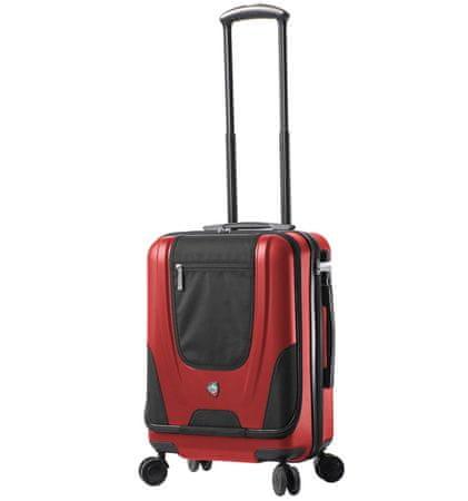 Mia Toro potovalni kovček M1325/3-S, rdeč