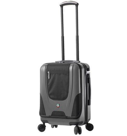 Mia Toro Utazó bőrönd M1325/3-S ezüst
