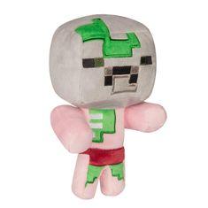 J!NX plišana igračka Minecraft happy explorer baby zombie pigman