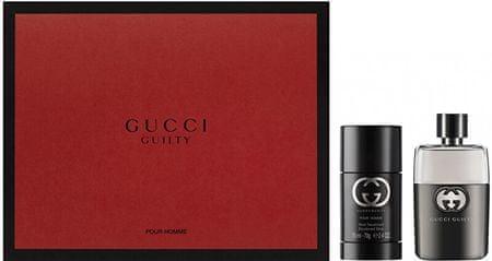 Gucci Guilty Pour Homme - EDT 50 ml + deo stift 75 ml