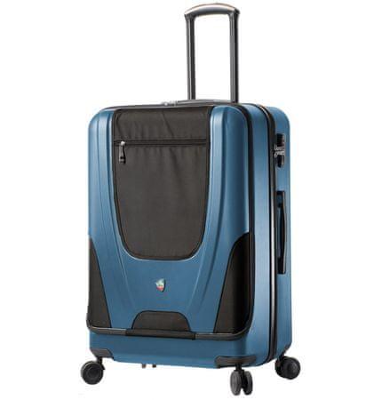 Mia Toro walizka podróżna M1325/3-L - jasnoniebieska