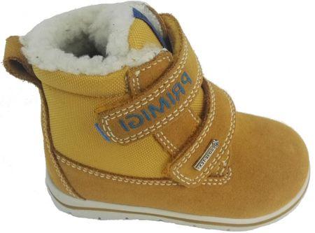 Primigi dívčí zimní obuv 23 žlutá