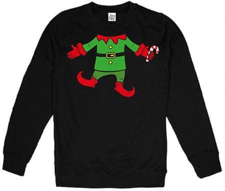Christmas T-shirt moška jopa, XXL, črna