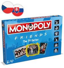 Winning Moves Monopoly: Priatelia CZ/SK