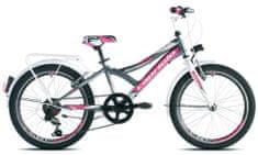 Capriolo MTB Diavolo 200 City, otroško mestno kolo, grafitno roza