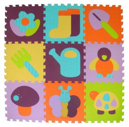 Baby Great Penové puzzle Záhradka XS 9 dielikov