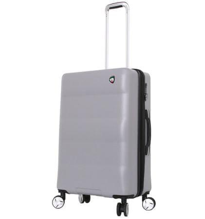 Mia Toro Utazó bőrönd M1703/3-M ezüst