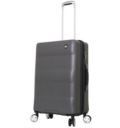 Mia Toro Utazó bőrönd M1703/3-M - charcoal