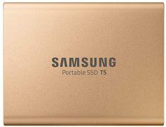 Samsung T5, 500 GB, USB 3.1 Gen 2 zunanji SSD, zlat