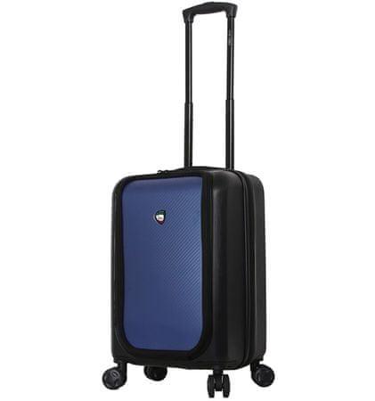 Mia Toro Utazó bőrönd M1709/2-S - fekete/kék