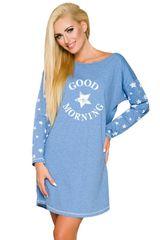 TARO Nočná košeľa Nadia 2111 blue