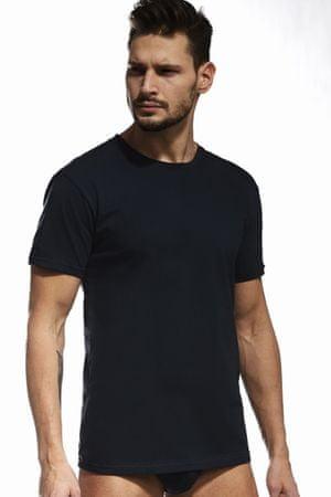 Cornette Férfi póló 202 black, fekete, L