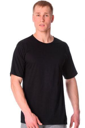 Cornette Férfi póló 202 new black, fekete, 3 XL