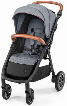 Baby Design dječja kolica Look air, siva