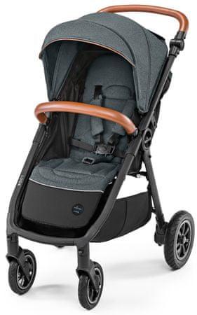 Baby Design dječja kolica Look air, tamno siva
