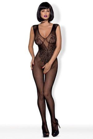Obsessive Női testharisnya N112, fekete, XL/XXL