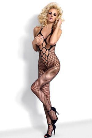 Obsessive Női testharisnya N106, fekete, S/M/L