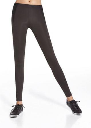 Bas Bleu Női sportos leggings Activella black + Nőin zokni Sophia 2pack visone, fekete, S