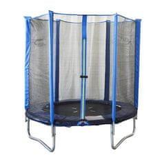 Spartan trampolin + mreža + lestev, 180cm
