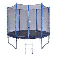 Spartan trampolin + mreža + lestev, 250cm