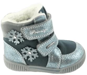 Primigi lány téli cipő 20 szürke