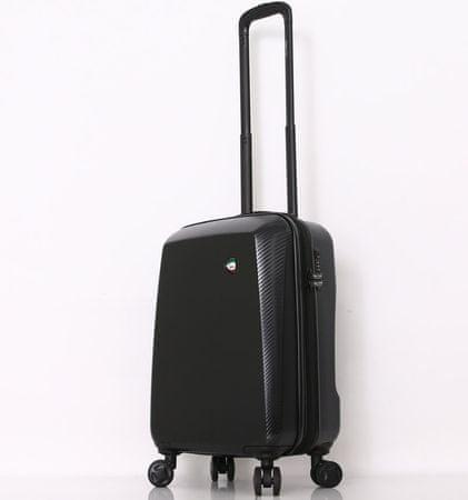 Mia Toro M1713/3-S Utazóbőrönd - fekete