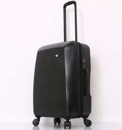 Mia Toro M1713/3-M Utazóbőrönd - fekete