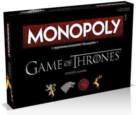Monopoly Trónok Harca Társasjáték - Magyar nyelvű